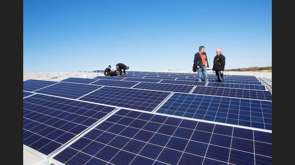 el-anslutning för solarium