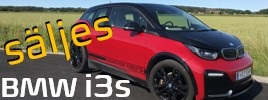 BMW i3s small frontbanner